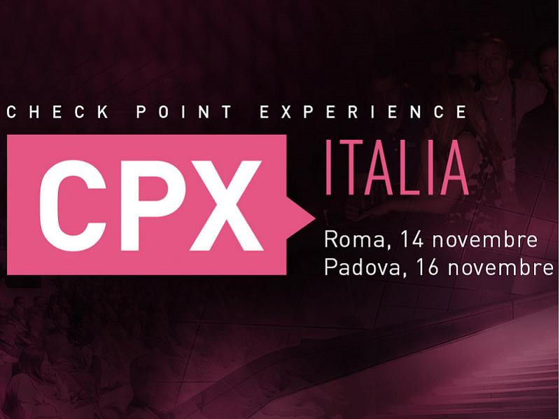 Lantech//Longwave tra gli sponsor del Check Point Experience Italia
