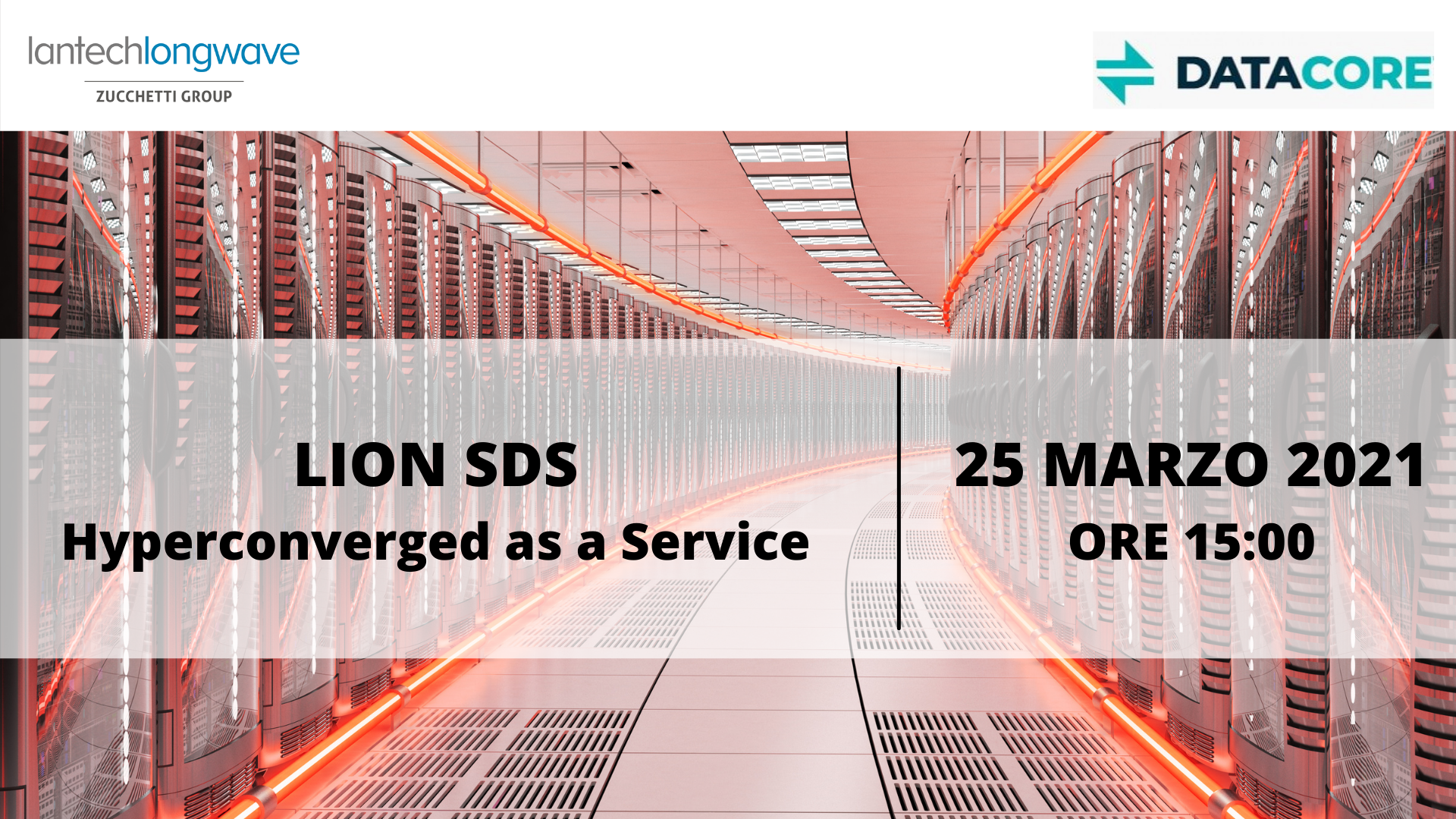 25 marzo - LION SDS: hyperconverged as a service