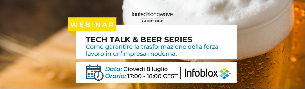 Lantech Longwave & Infoblox: Tech talk & Beer series