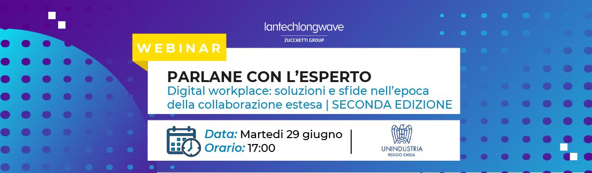 Parlane con l'esperto - Digital Workplace: le sfide dello smart working